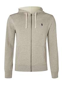 Polo Ralph Lauren Zip-Through Cotton-Blend Hoodie ... e6b9cc3127ac