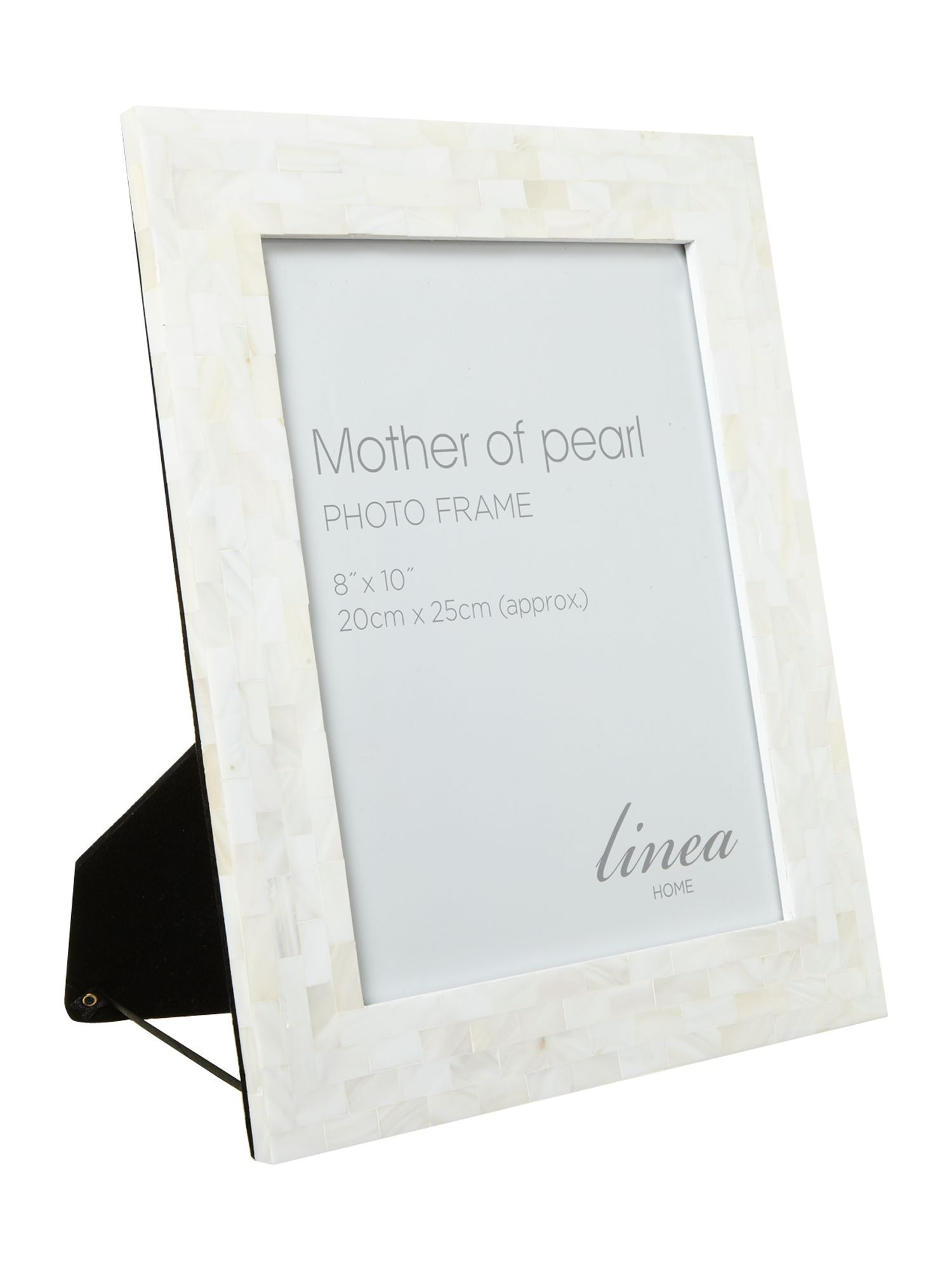linea mother or pearl photo frame 8x10 house of fraser - Mother Of Pearl Picture Frame