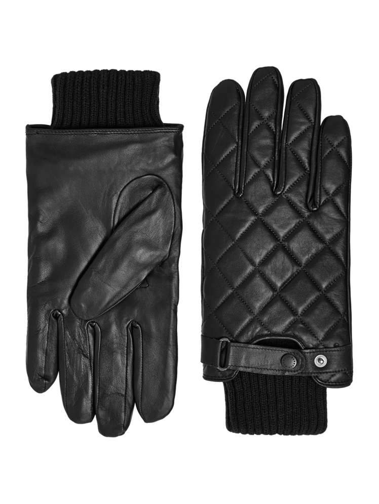 Barbour Quilted Leather Gloves - House of Fraser : barbour quilted gloves - Adamdwight.com