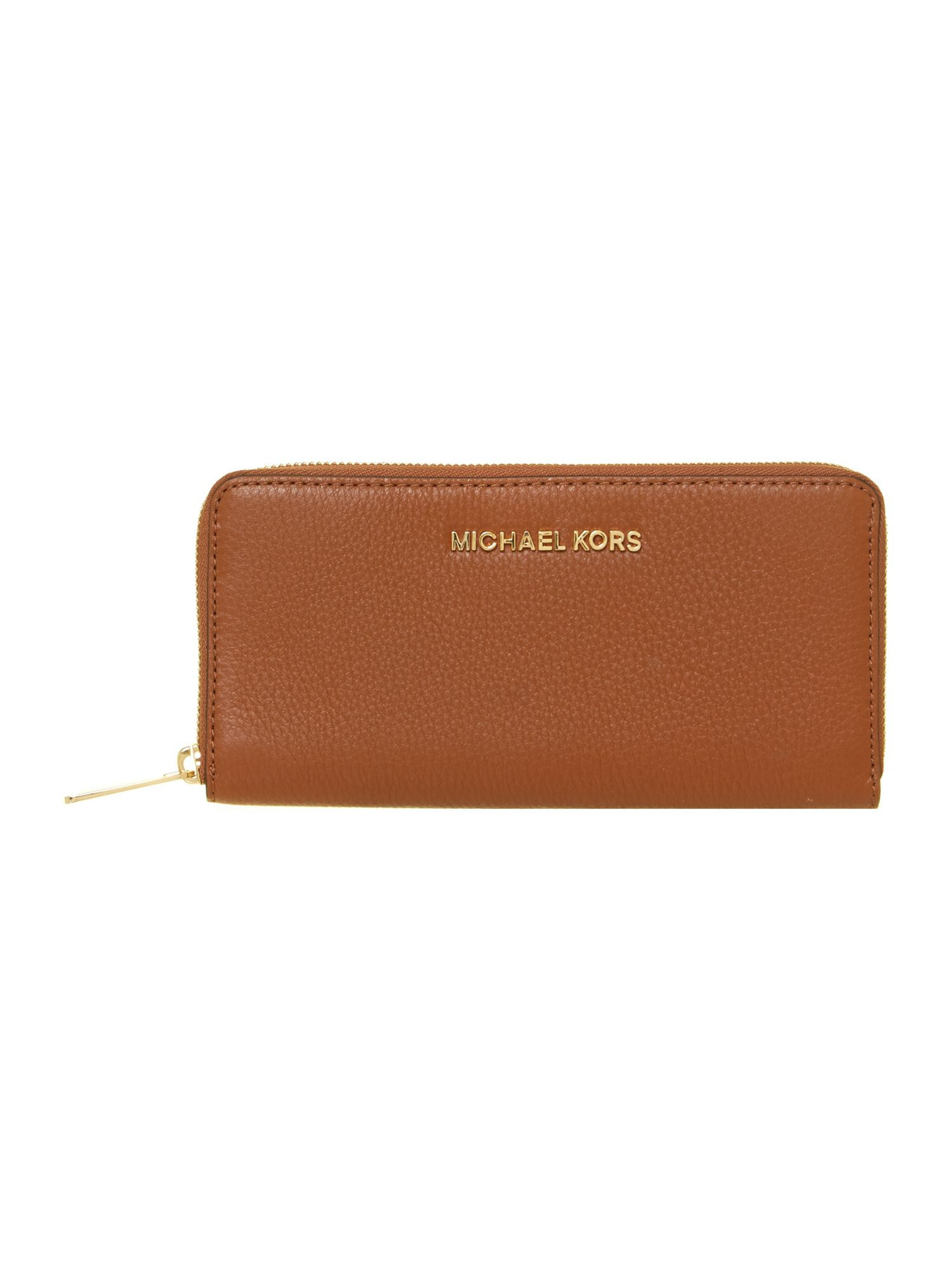 michael kors bedford large tan zip around purse house of fraser rh houseoffraser co uk