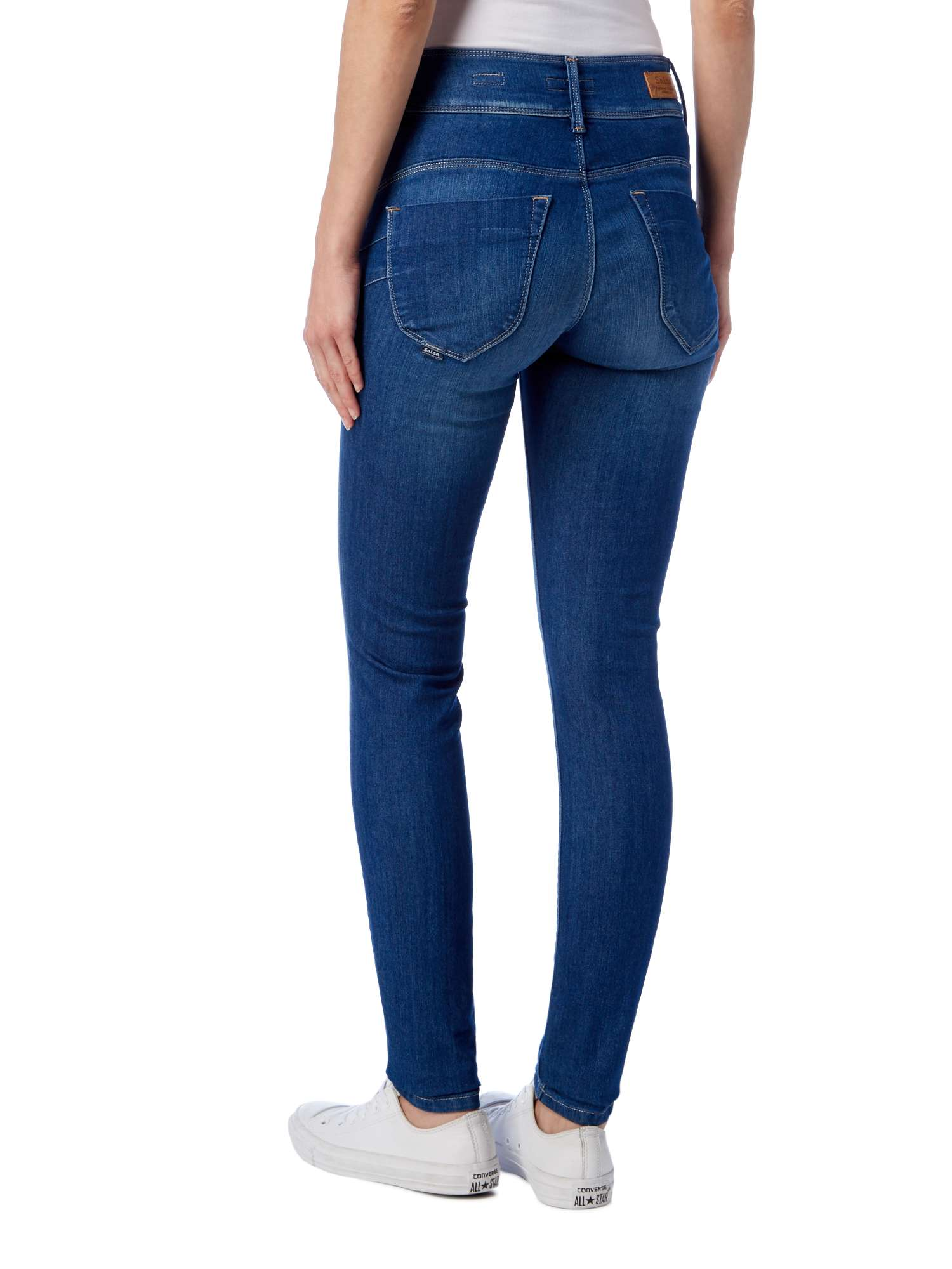 Skinny Jeans Secret in Push Salsa wqt4In
