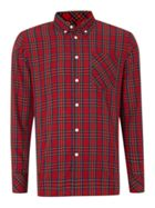 Men's Merc Long Sleeve Tartan Check Shirt