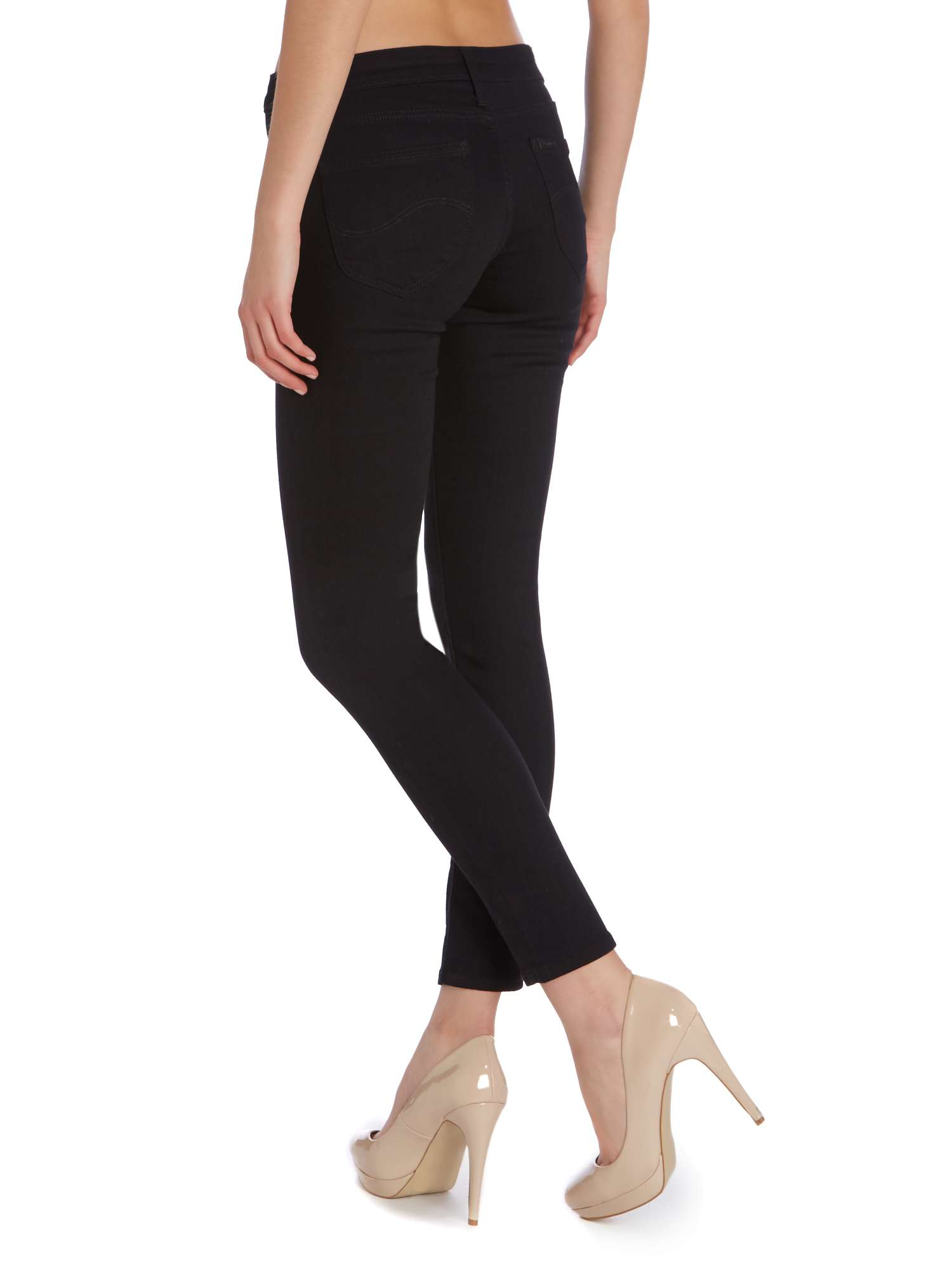 Jeans Black In Lee Skinny Scarlett Enw1q1HTZY