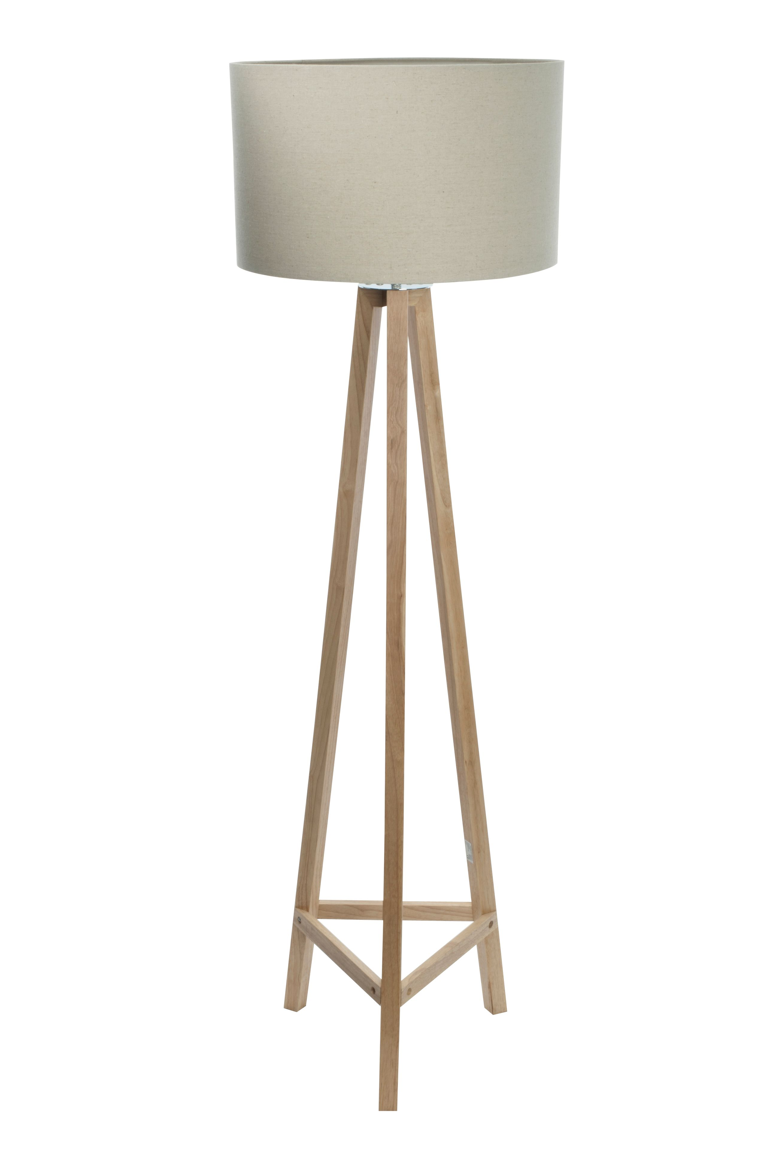 Linea connie light wood tripod floor lamp house of fraser mozeypictures Gallery
