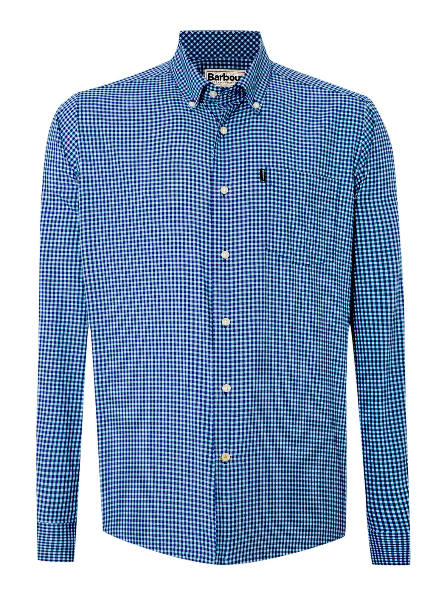 Barbour Mens Shirts House Of Fraser Tendencies Tshirt Washed Pocket Nv Navy S Gingham Shirt