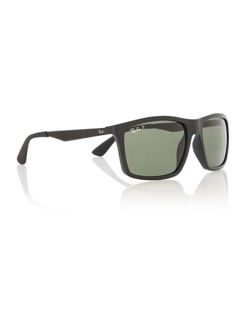 01caf50711 Ray-Ban Rb4228 Rectangle Sunglasses. 219624910. £154.00. Previous.  selectedColor. selectedColor