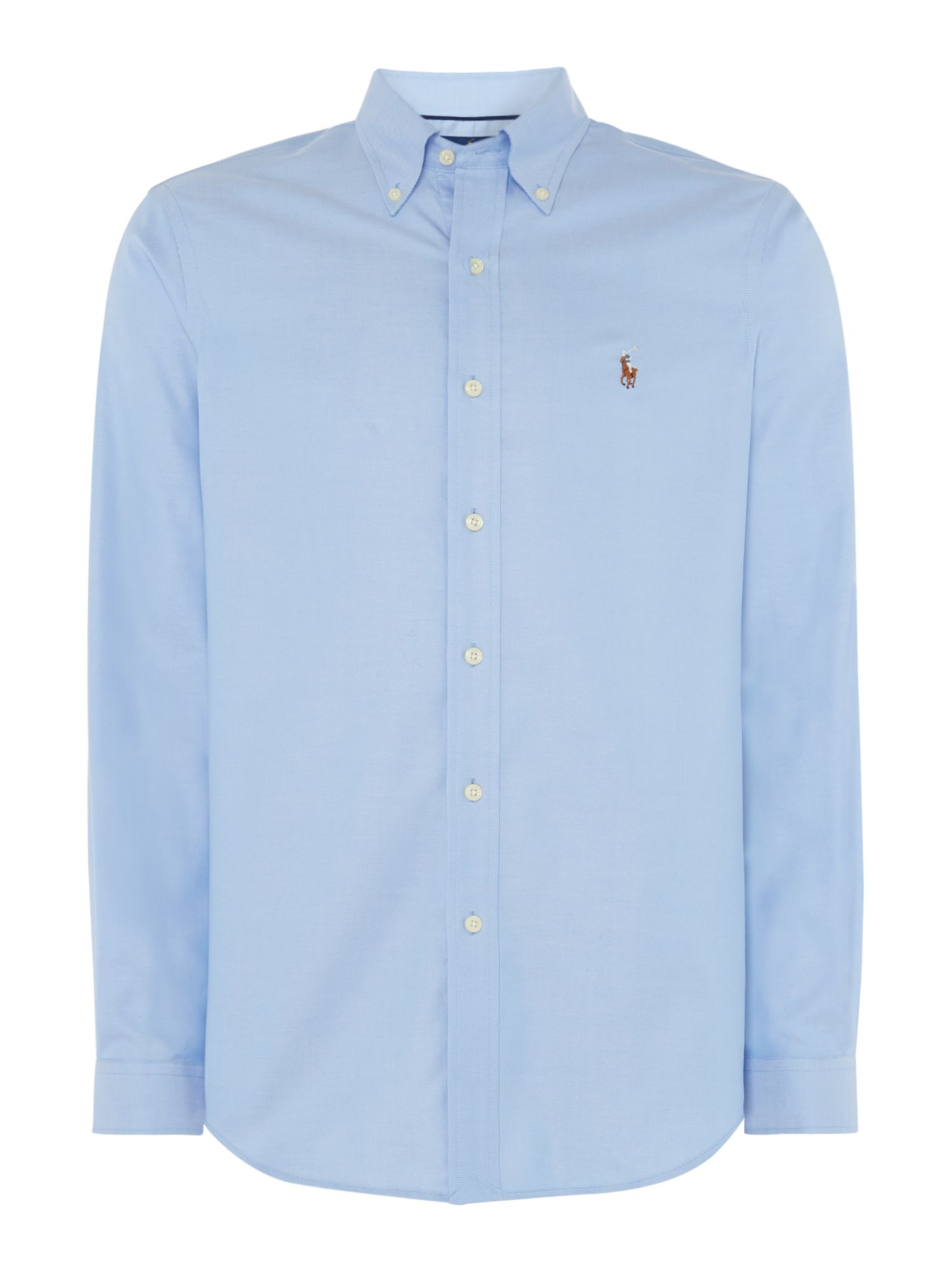 Polo Ralph Lauren Golf Plain Oxford Non-Iron Dress Shirt ...