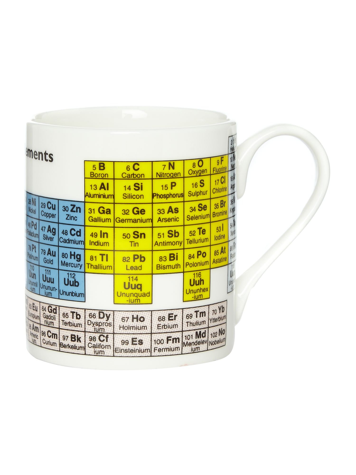 McLaggan Periodic Table Mug House of Fraser