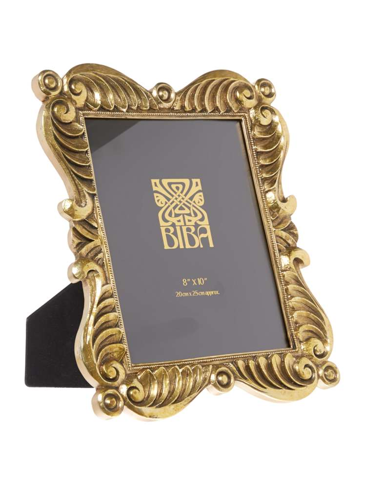 Biba Jasmine Gold Photo Frame 8x10 - House of Fraser