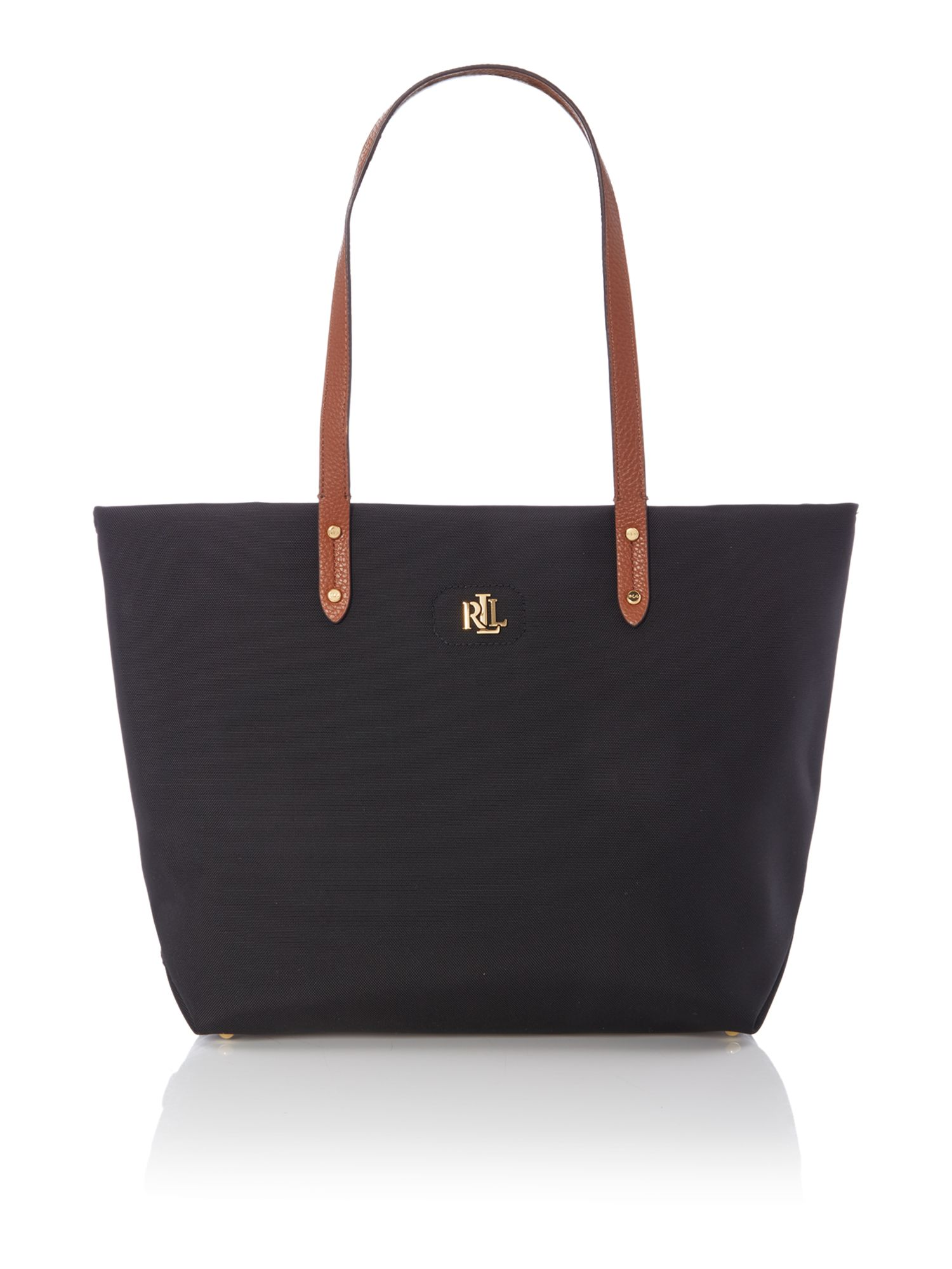 Lauren Ralph Lauren Bainbridge Black Large Tote Bag - House of Fraser