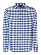 Auburn Oxford Regular Fit Gingham Shirt