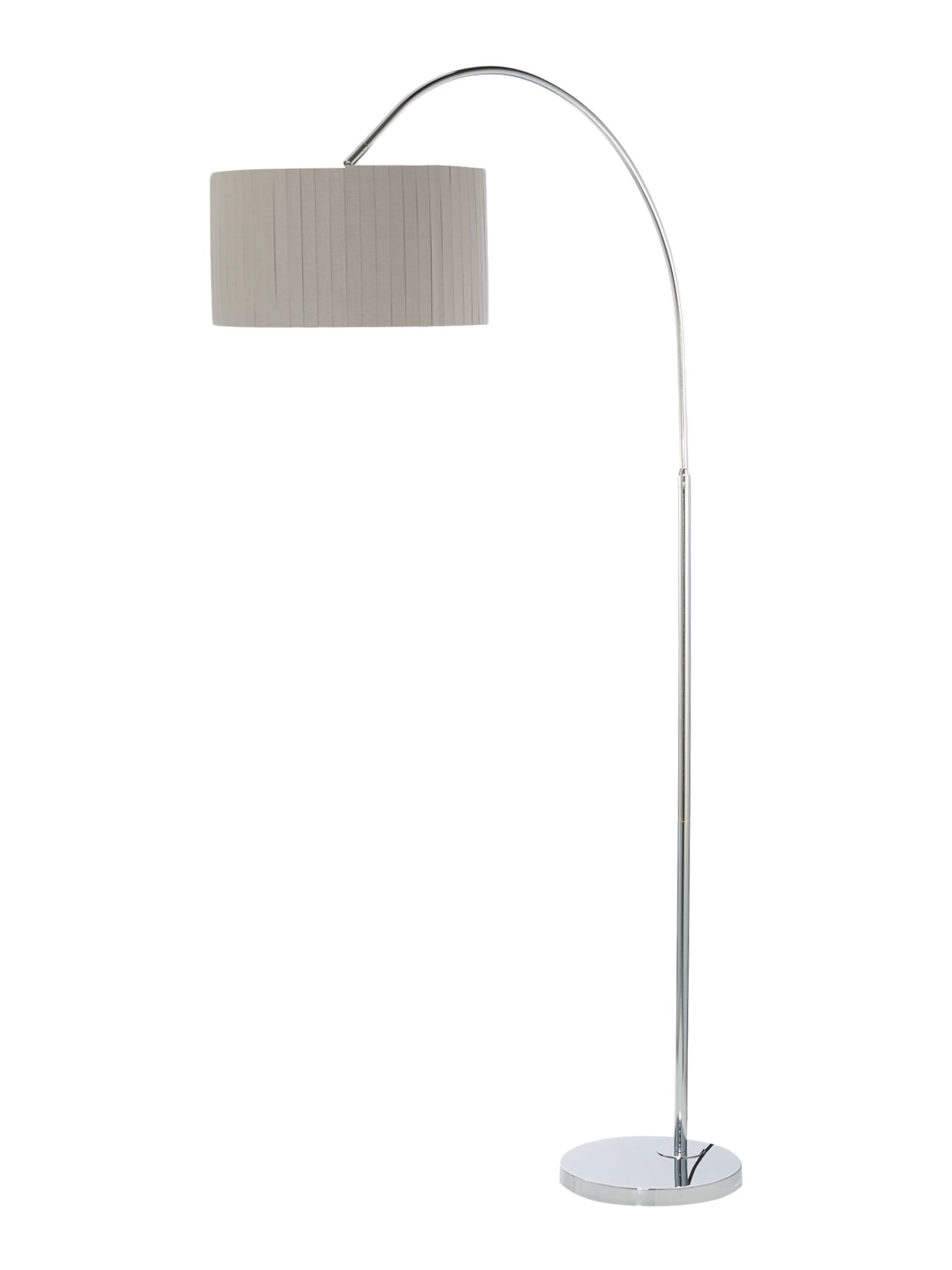 Floor lamps house of fraser meze blog for Pallas chrome floor lamp