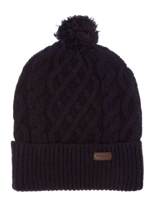 Barbour Cable Knit Beanie - House of Fraser e142189072f