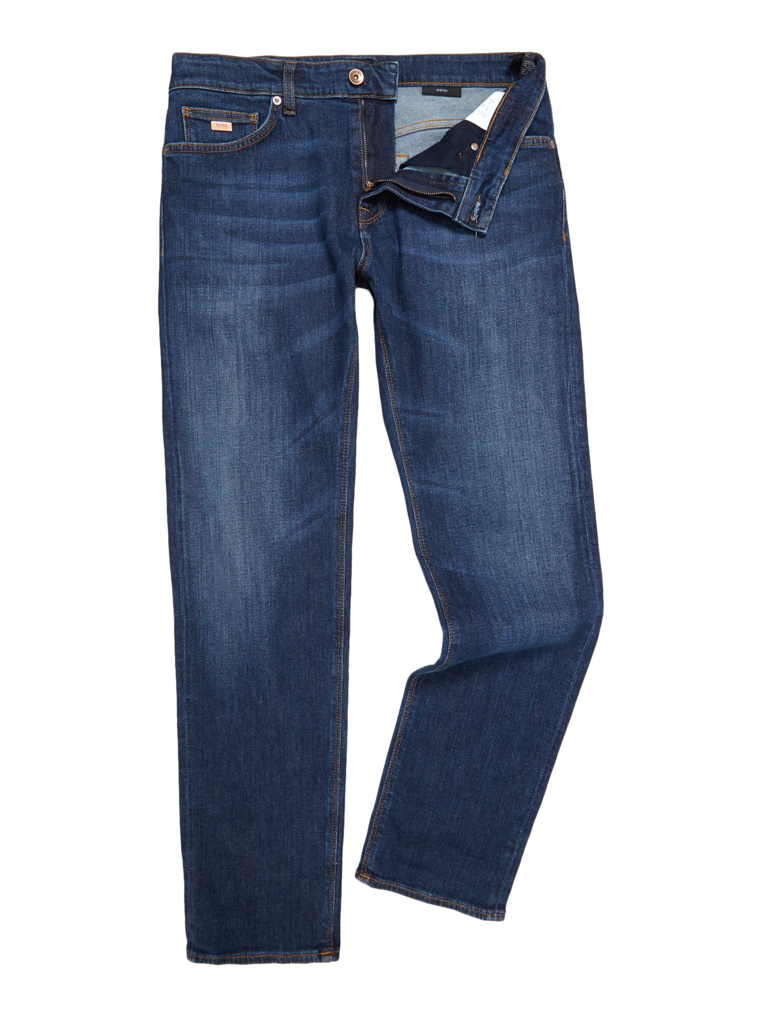 Regular Straight Fit Jeans - Mid Blue Worn In GANT Outlet 2018 New Best Place 100% Guaranteed Cheap Online ZTjOhf9eXx