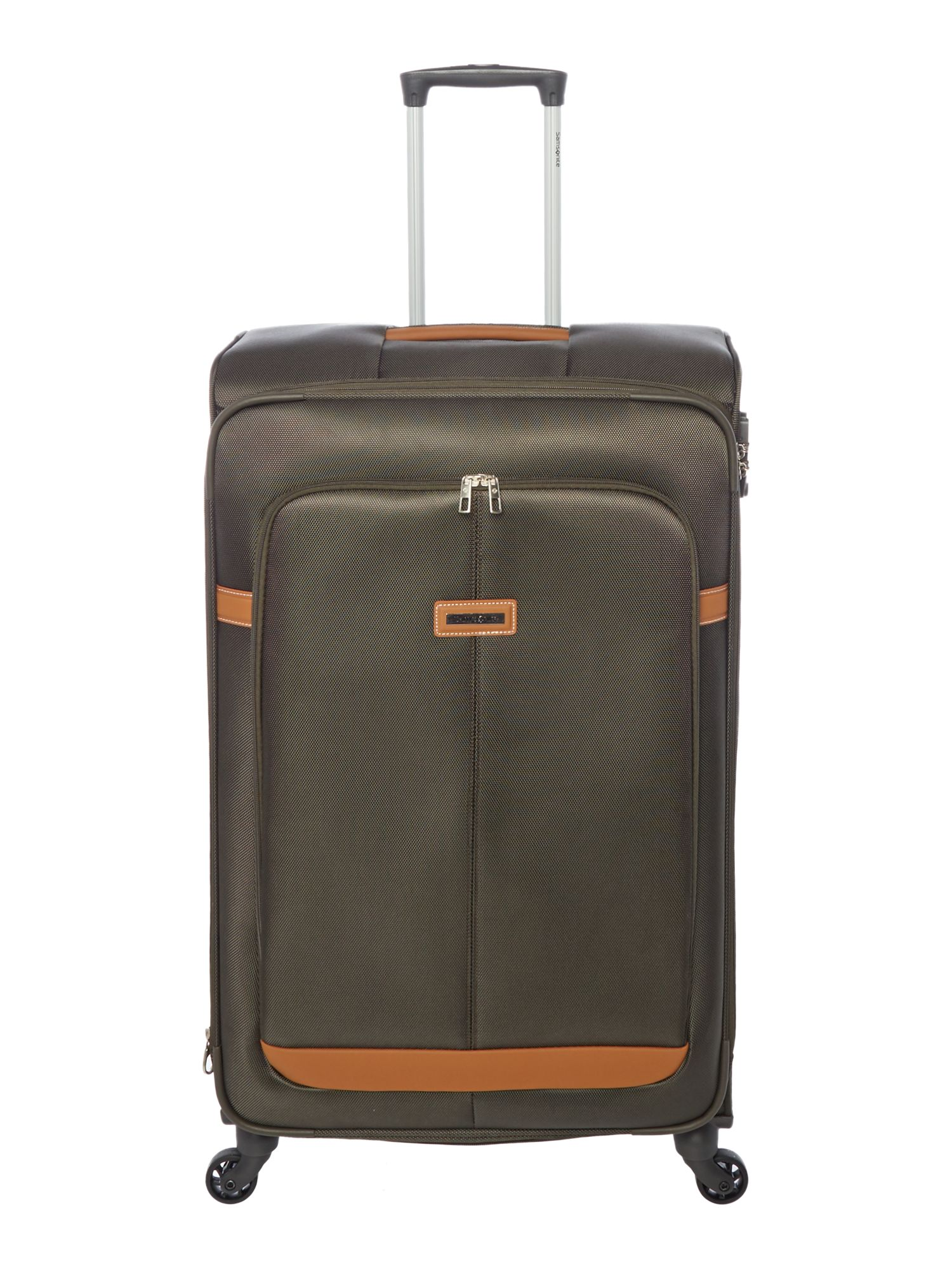 Samsonite Caphir Olive 4 Wheel Soft Large Suitcase - House of Fraser