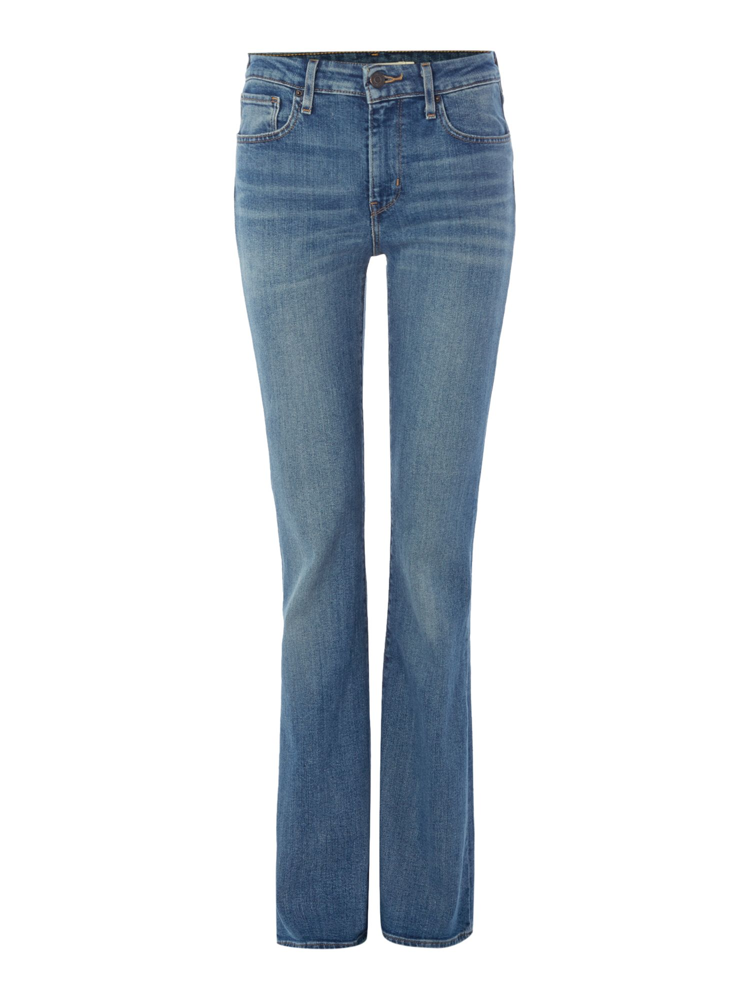 Levi's High Rise Flare Jean In Star Gaze - House of Fraser