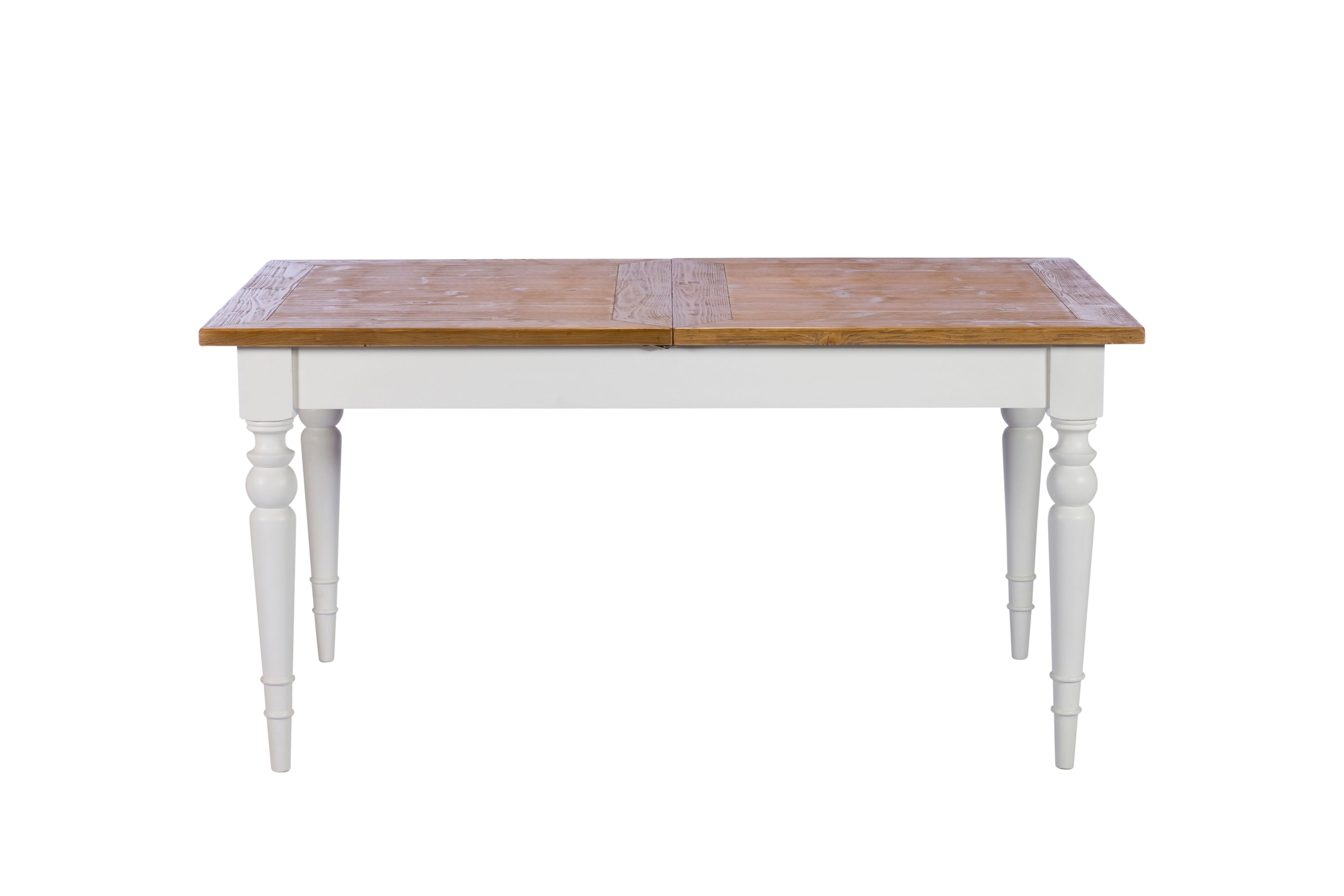 Shabby Chic Willow Ii 155cm Rectangle Extending Dining Table House