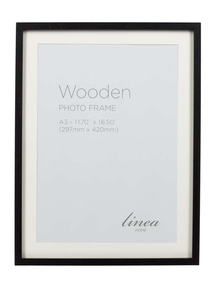 Linea Black A3 Poster Frame - House of Fraser