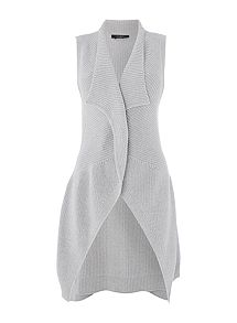 Max Mara Laura knitted belted waistcoat ... a20250a9b67