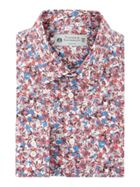 Hartwell Abstract Floral Print Shirt