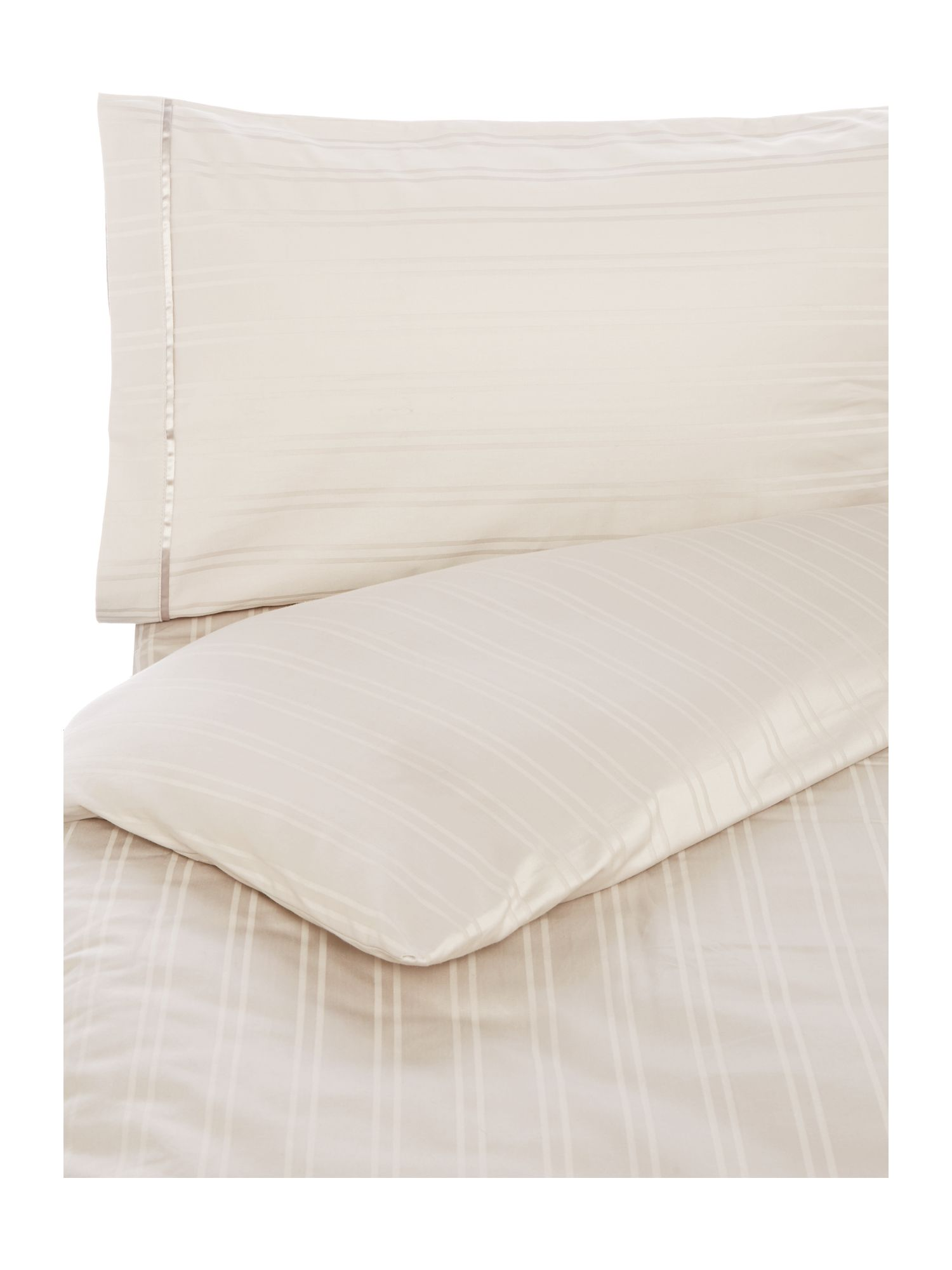 luxury hotel collection woven stripe duvet cover set