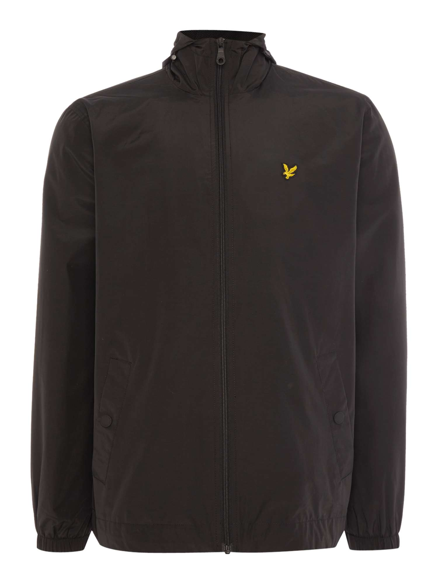 Lyle and Scott Zip Through Hooded Jacket ... cfaa3d3869