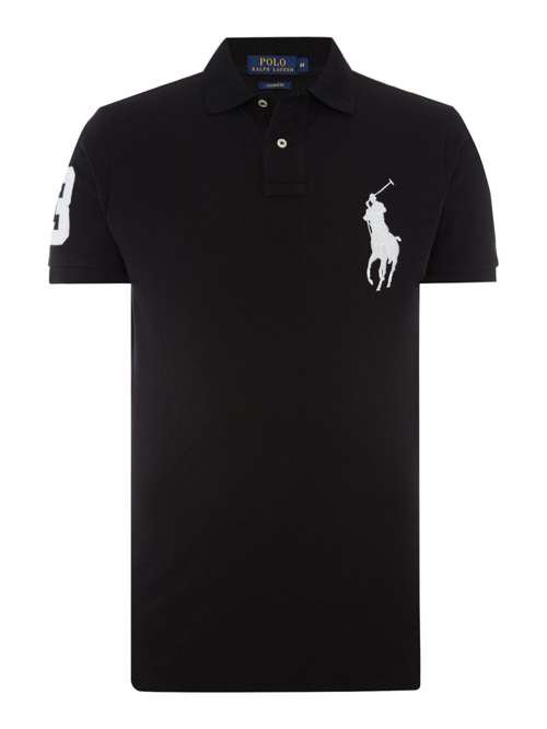 Polo Ralph Lauren Custom Fit Big Pony Polo Shirt House Of Fraser