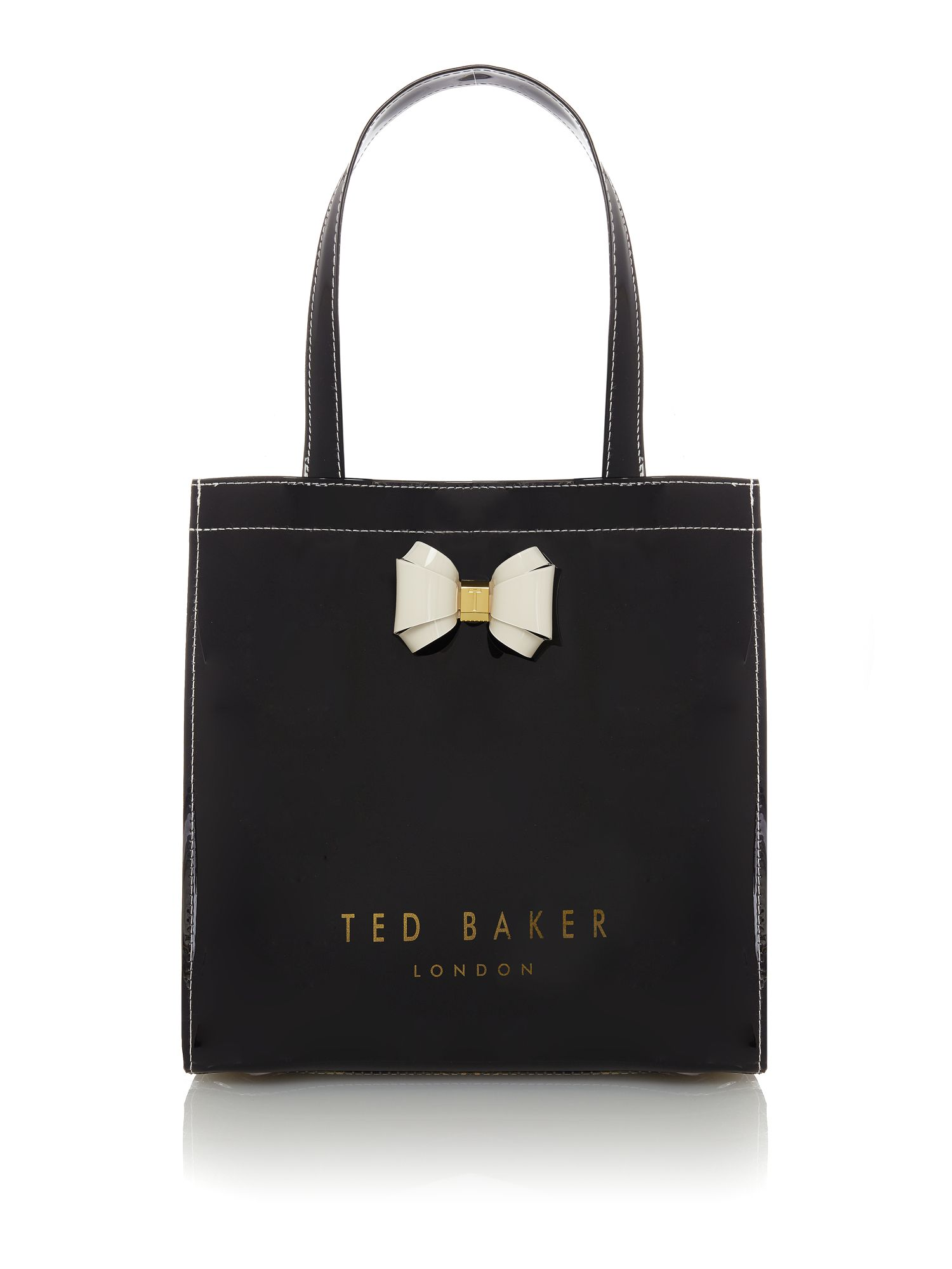 Ted Baker Aracon small bowcon bag Black