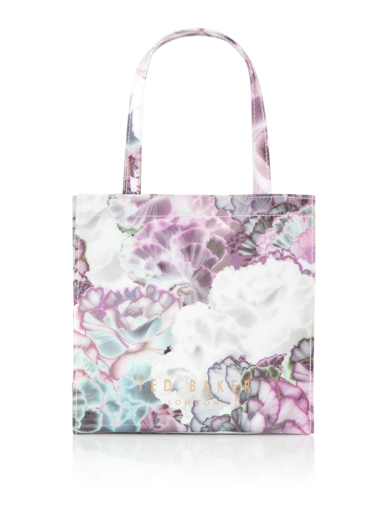 Ted Baker Loracon small floral bowcon bag Purple