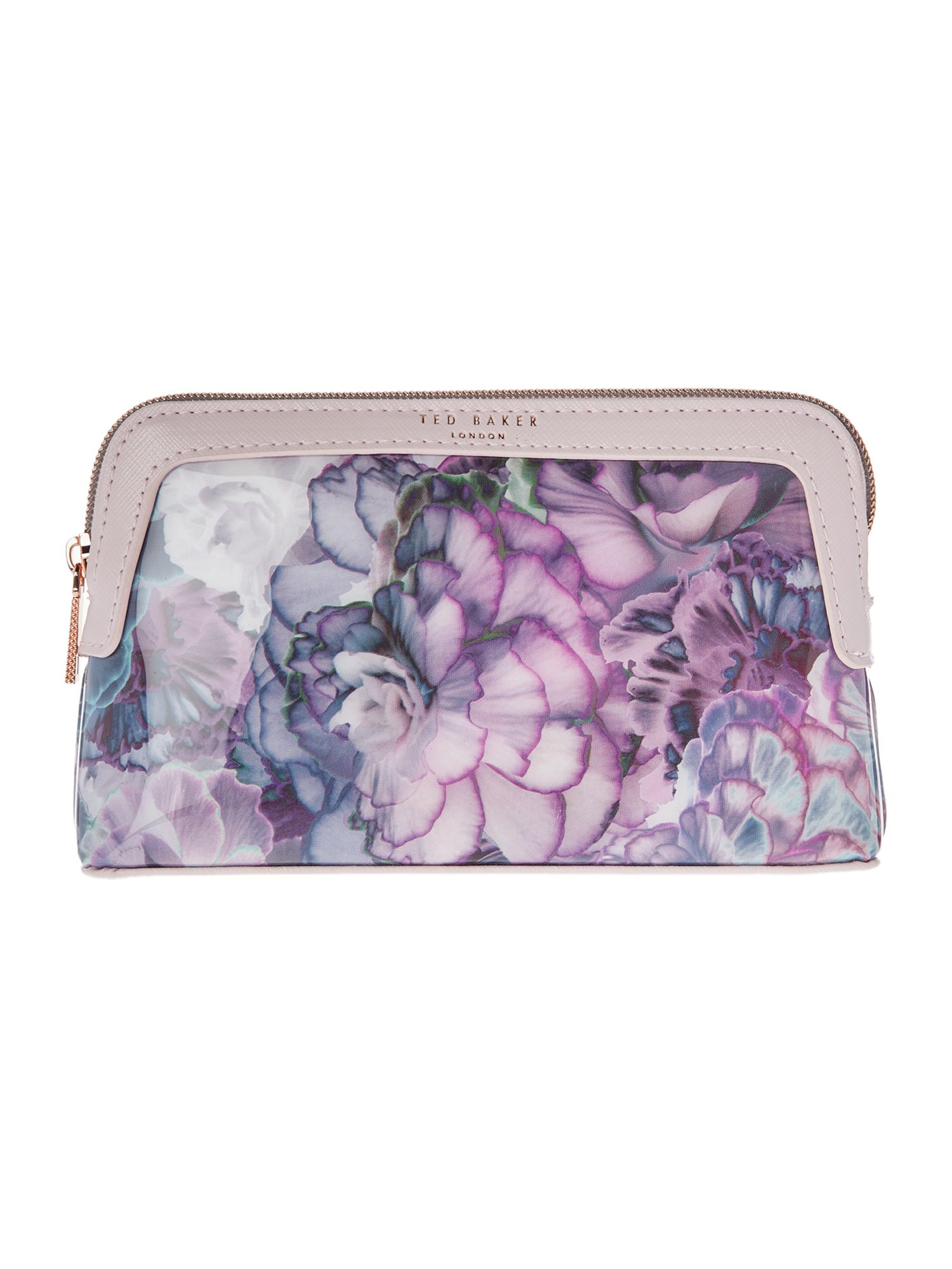 Ted Baker Florisa medium cosmetic bag Light Pink