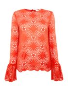 Endless Rose Long Sleeved Detailed Knitted Top