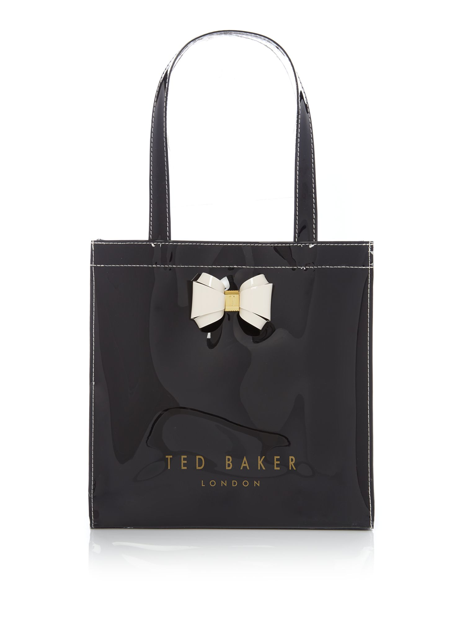 Ted Baker Aracon small bow tote bag Black
