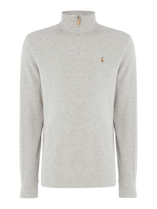 Polo Ralph Lauren Half Zip French Rib Sweat - House of Fraser 665387f1ed07