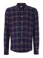 Men's Barbour Seth long sleeve checked shirt