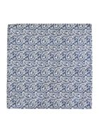 Castello Italian Silk Printed Pocket Square