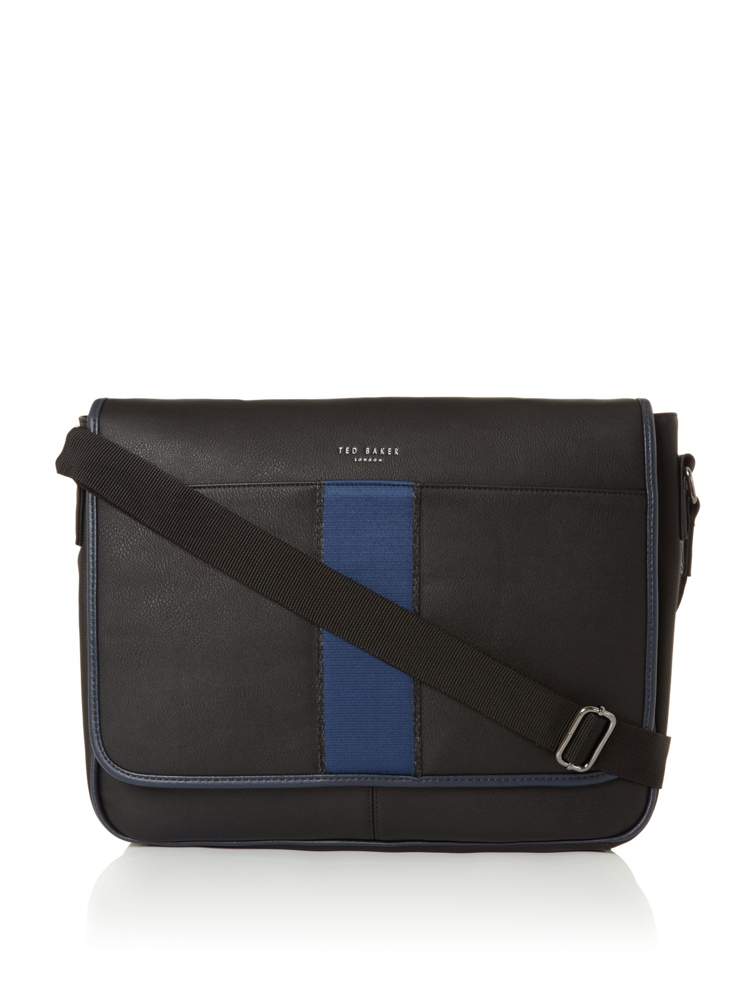 Ted Baker Webbing Despatch Bag Black