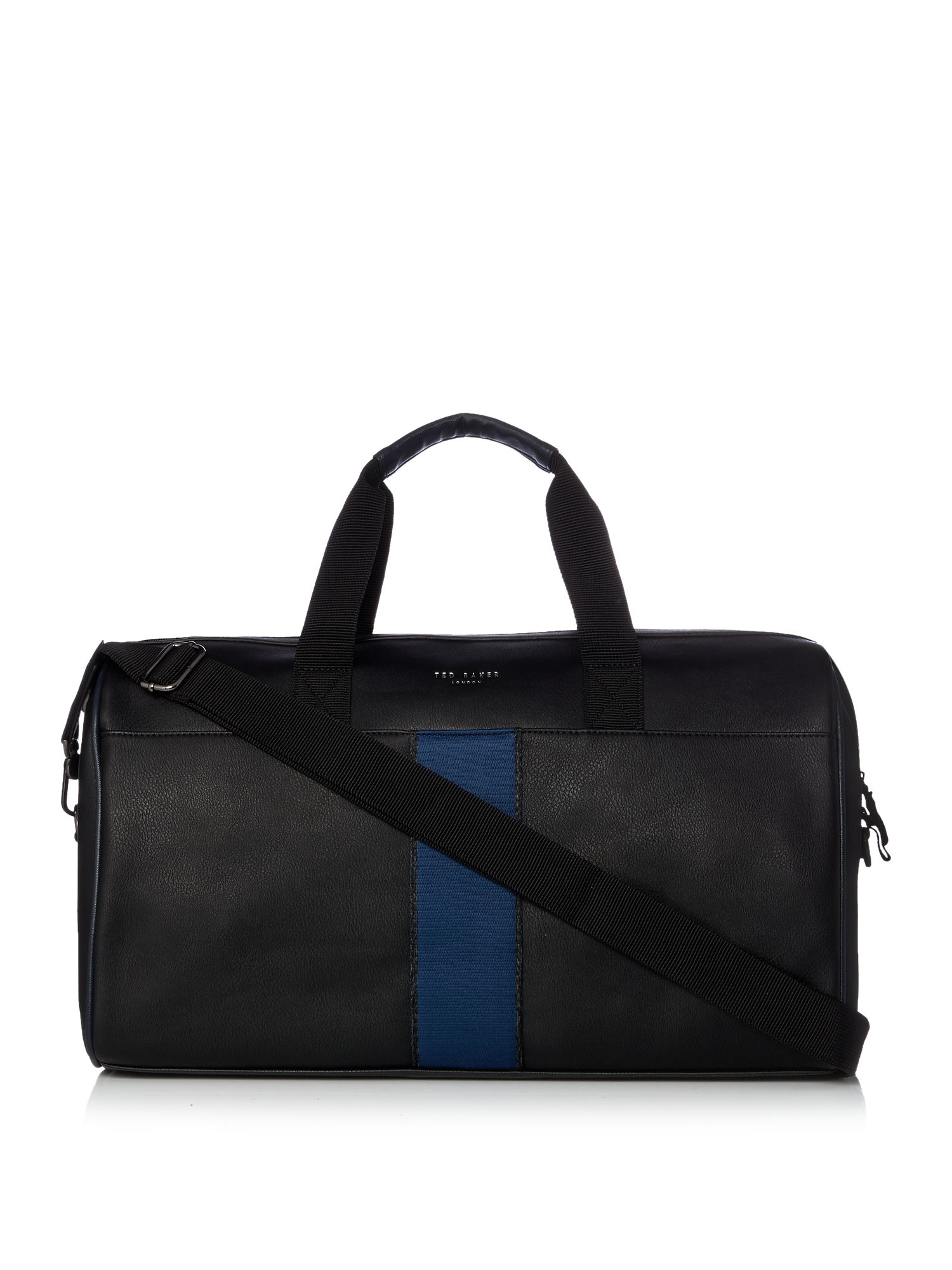 Ted Baker Webbing Holdall Bag Black