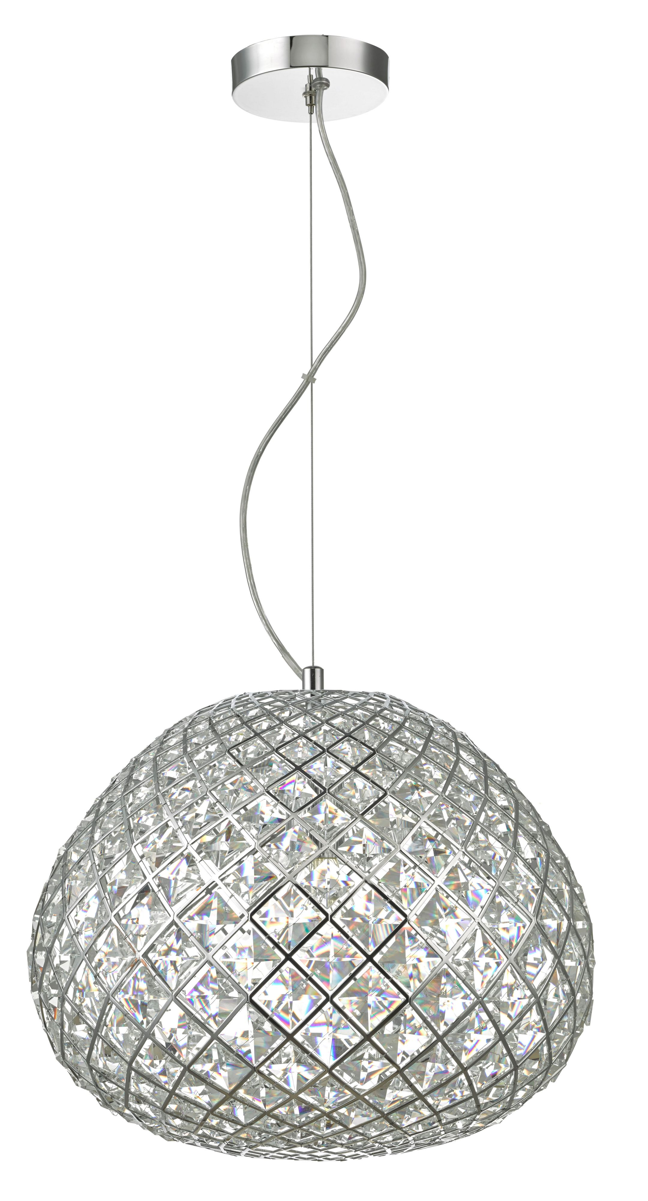 asteria lights lumiart ceiling light crystal