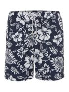 Men's Howick Hawaiian Print Swim Short