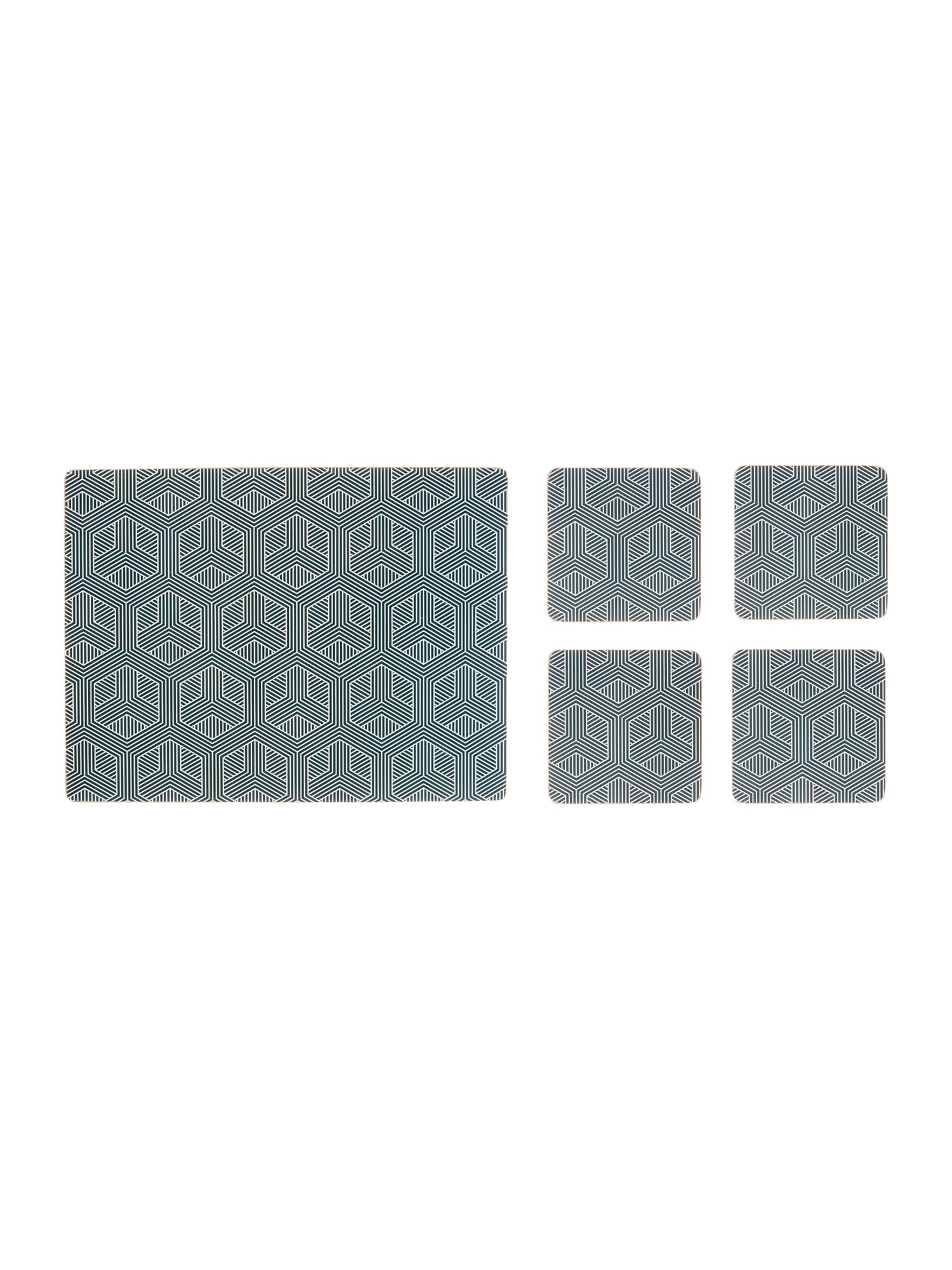House of fraser green vase - Living By Christiane Lemieux Mai Hexagon Placemats Coasters Set