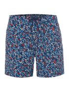 Men's Linea Abstract Geo Print Swim Short