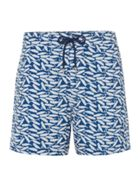 Men's Linea Whale Print Swim Short