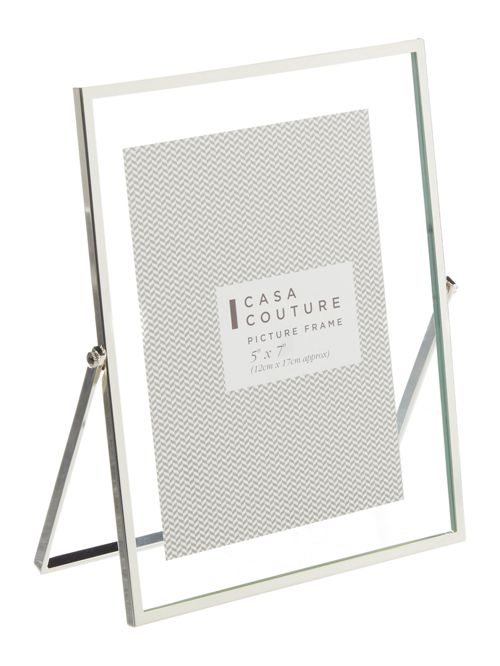 Casa Couture Metal Stand Glass Frame 5x7 House Of Fraser
