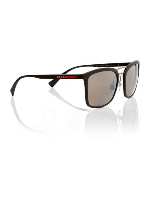 efec5cf7025 Prada Linea Rossa Brown Rectangle Ps 03ss Sunglasses. 255683902. £226.00.  Previous. selectedColor. selectedColor