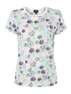 Armani Jeans Short sleeve printed tee in fantasia