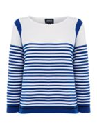 Armani Jeans Long sleeve gradual stripe top