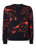 Men's PS By Paul Smith All-over dice men