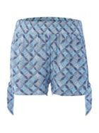 Dickins & Jones Tile print beach short