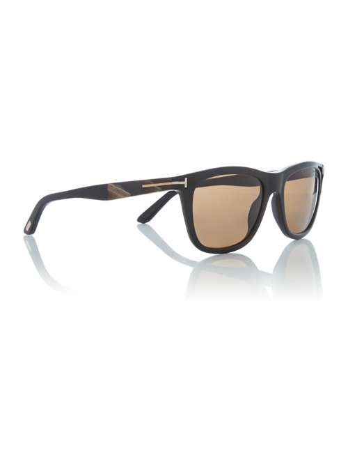 b122a5366a Tom Ford Sunglasses Shiny Black Ft0500 Andrew Round Sunglasses. 256615067.  £275.00. Previous. selectedColor. selectedColor