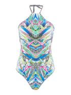 Freya Tropicool placement swimsuit